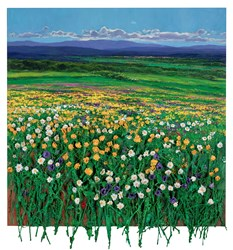 Flores de Primavera by Ramon Vila -  sized 31x35 inches. Available from Whitewall Galleries